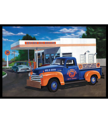AMT 1950 Chevy Pickup Union 76 1:25 Scale Model Kit