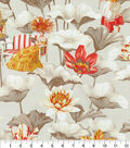 P/K Lifestyles Upholstery Fabric 54\u0027\u0027-Cinnabar Lotus Dreams