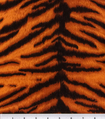 Suede Fabric -Tiger
