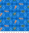 University of Florida Gators Flannel Fabric-Tie Dye