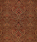 Home Decor 8\u0022x8\u0022 Fabric Swatch-Upholstery Fabric Barrow M8247-5281 Cinnamon