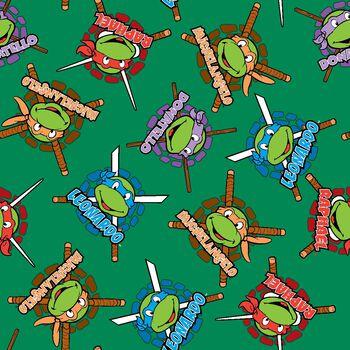 "Nickelodeon® Teenage Mutant Ninja Turtles® Fleece Fabric 59""-Retro"