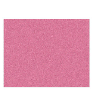 American Crafts We R Memory Keepers 22''x28'' Glitter Poster Board-Pink