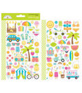 Doodlebug Design Sweet Summer Cardstock Stickers-Mini Icons