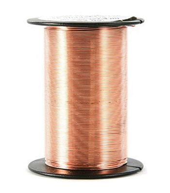 24 Gauge Wire 25 Yards/Pkg-Copper