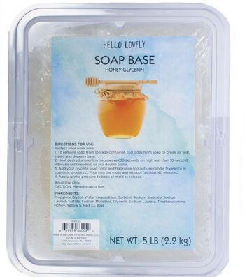Beauty Soap 5Lb Brick-Honey