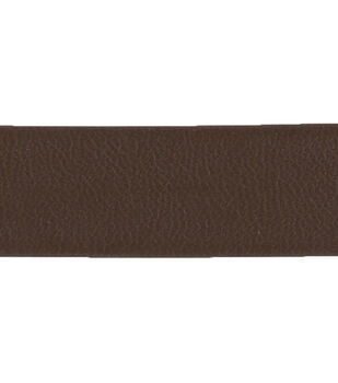 "Simplicity Trims-1/2"" Dark Brown Faux Leather Band"
