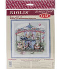 Carousel Counted Cross Stitch Kit 14 Count