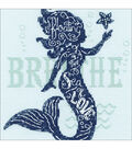 Dimensions Counted Cross Stitch Kit-Mermaid Song