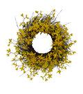 Fresh Picked Spring 29\u0027\u0027 Forsythia & Vine Wreath