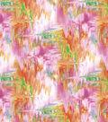 Modern Premium Cotton Print Fabric 43\u0027\u0027-Washed Oil Slick