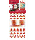 Hot off the Press Dazzles Stickers-358 Red Heart