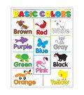 Basic Colors Learning Chart 17\u0022x22\u0022 6pk
