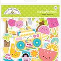 Doodlebug Odds & Ends Die-Cuts 80/Pkg-Sweet Summer