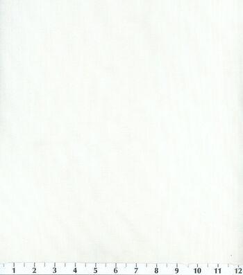 Voile Utility Fabric White