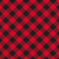 Christmas Cotton Fabric-Traditional Red Plaid