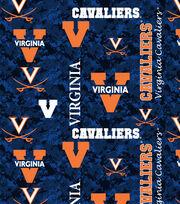 "University of Virginia Cavaliers Fleece Fabric 60""-Digital Camo, , hi-res"