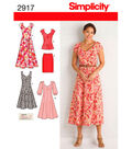 Simplicity Pattern 2917AA 10 12 14 1-Simplicity Misses