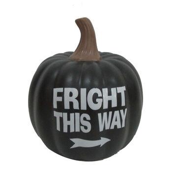 Maker's Halloween Pumpkin-Fright this Way