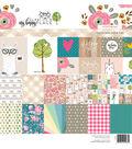 Webster\u0027s Pages My Happy Place 24 Sheets 8\u0027\u0027x8\u0027\u0027 Paper Pad