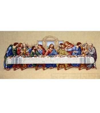 Janlynn Counted Cross Stitch Kit The Last Supper