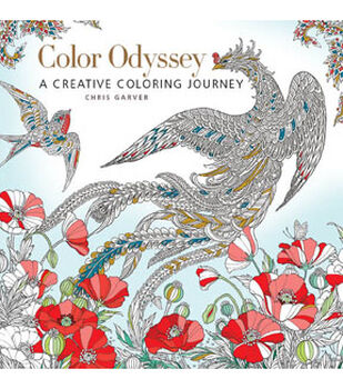 Color Odyssey A Creative Coloring Journey Book