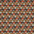 Harry Potter Cotton Fabric-Kawaii Characters