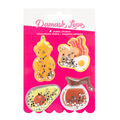 American Crafts Damask Love Shaker Stickers