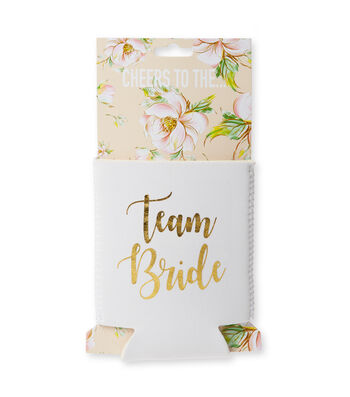 Jade & Deer Team Bride Cozie