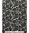Knit Rayon Spandex Fabric 59\u0022-Black & White