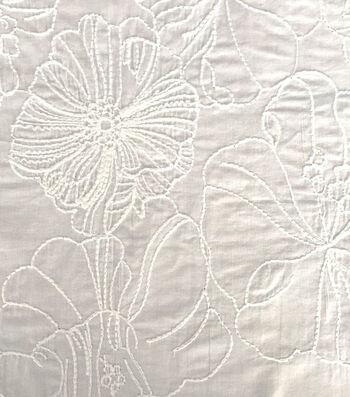 Sew Classics Cotton Fabric 55''-Hibiscus