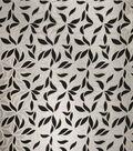 Home Decor 8\u0022x8\u0022 Fabric Swatch-Print Fabric Eaton Square Lewisville Silver