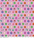 Girl Scout Flannel Fabric 43\u0022-Junior Badges