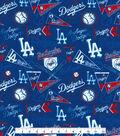 Los Angeles Dodgers Vintage MLB Cotton Fabric