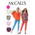 Mccall Pattern M6510 Y (Xsm-Sml-Mccall Pattern