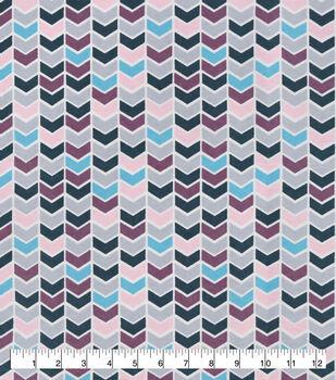 Snuggle Flannel Fabric-Pastel Geometric