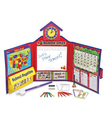 Pretend & Play School Set with U.S. Map