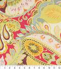 Home Essentials Lightweight Decor Fabric 45\u0022-Giverny Sherbert