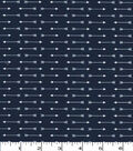 Quilter\u0027s Showcase Cotton Fabric 44\u0022-Navy Linear Arrows