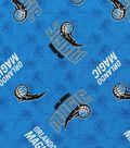 Orlando Magic Cotton Fabric 44\u0022-Logo Toss