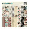 Authentique Paper Companions 24-sheet 12\u0027\u0027x12\u0027\u0027 Double-sided Paper Pad