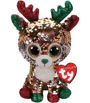 Ty Inc. Flippables Regular Sequin Tegan Reindeer, , hi-res