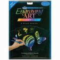 Foil Engraving Art Blank Boards 5\u0022X7\u0022-Rainbow