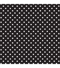 Fadeless Classic Dots 48x12 Black and White