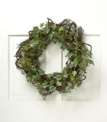 Bloom Room Moss Grass Ivy Wreath-Green