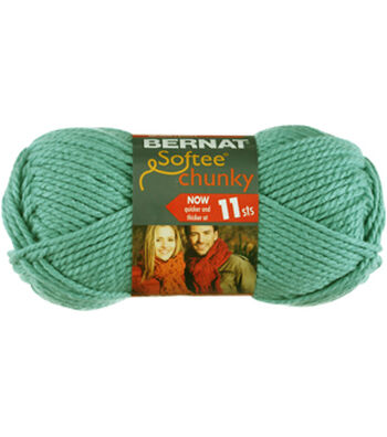 Bernat Softee Chunky Yarn Multipack of 12-Seagreen