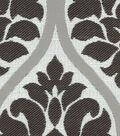Waverly Multi-Purpose Decor Fabric 54\u0027\u0027-Onyx Shape Shifter