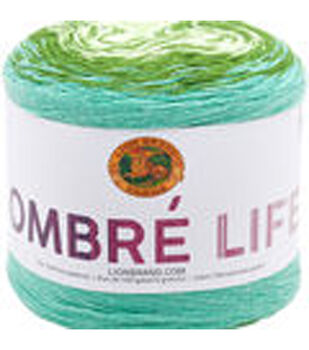 Lion Brand Ombre Life Yarn