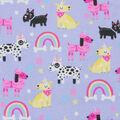 Super Snuggle Flannel Fabric-Unicorn Dogs