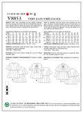 Mccall Pattern V8853 6-8-10-12--Vogue Pattern